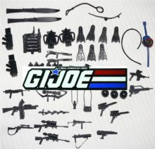 G.I. JOE Spare Weapons & Parts